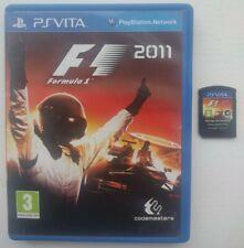 F1 2011 (Sony PlayStation Vita) Pal UK complet envoi gratuit Formula One 1