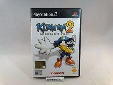 KLONOA 2 LUNATEA'S VEIL SONY PS2 PLAYSTATION 2 PAL ITALIANO COMPLETO ORIGINALE