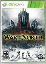 Lord of the Rings: War in the North Microsoft Xbox 360 Brand New Factory Sealed