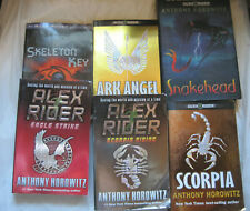 Lot of 6~Alex Rider series Books by Anthony Horowitz~LBDCT
