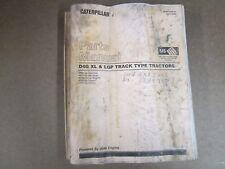 Carterpillar Parts Manual - D4G XL - LGP - Track Tractors - 3046 Engines - 2002