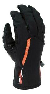 Sitka Gear Mountain Windstopper Gloves Nylon (Black) (Size - Medium)