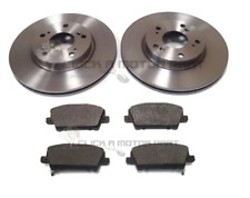 for HONDA CIVIC 1.8i-VTEC 2.2 CDTI TYPE S & GT 06-11 FRONT BRAKE DISCS AND PADS