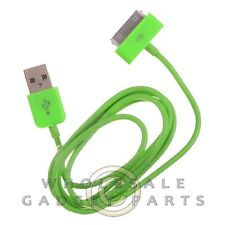 Apple iPhone 4/i4S Data Cable Green Sync USB Charger Cord Transfer Connector