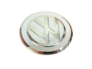 Genuine Volkswagen UP Wheel Center Hub Cap Silver White 1S0601149DCIX