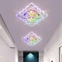 Modern LED Crystal Ceiling Light Fixture Pendant Lamp Lighting Chandelier Decor