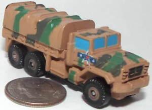 Small Micro Machine Plastic M-923 Military 6X6 Truck in Desert Camouflage
