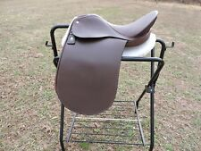 "Lovatt & Ricketts 16 3/4"" Dressage Saddle Brown Close Contact Spring Tree"
