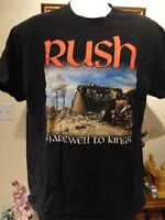 "RUSH ""A Farewell To Kings"" Men's Album Cover Men's T-Shirt Large"