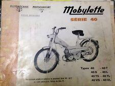 Catalogue pièces détachées notices MOTOBECANE MOTOCONFORT MOBYLETTE revue