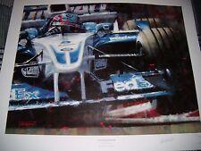 Juan Pablo Montoya JUAN CARLOS Ferrigno BMW Williams FW24 2002 stampa firmata Ltd