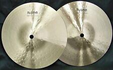 "Sabian Prototype HH 9"" Mini Hi Hat Cymbals/New-Warranty/T-475g+B-476g/Rare"