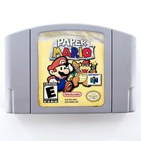 Paper Mario (Nintendo 64) Authentic Cartridge Only Tested & Works