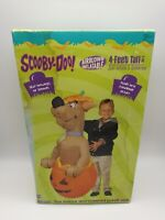 Vintage Gemmy Airblown Inflatable Scooby-Doo In Halloween Pumpkin 4 Ft In Box