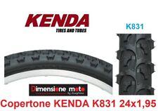 "Copertone ""KENDA"" 24x1,95 K831 Tassellato Nero per Bici 24"" MTB Mountain Bike"