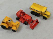 ed Vtg Lesney Matchbox #6 Euclid Dump Truck Drott Excavator #58 Jumbo Crane