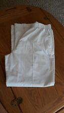 Landau White Scrub Pants Lg