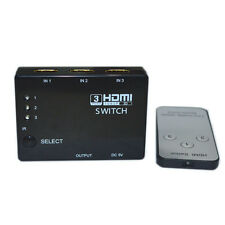 3 Port 1080P HDMI Switch Switcher Splitter IR Remote for HDTV PS3 DVD