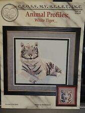 CROSS STITCH CHARTS for WHITE TIGERS