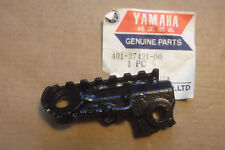 YAMAHA MX125  MX175  YZ125  GENUINE R/HAND FRONT FOOTREST ASS'Y - # 401-27421-00