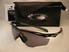 Oakley M2 XL Polished Black w Grey Lens NEW Sunglasses (oo9343-01)