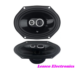 "Audiopipe CPL6800 150 Watt 6"" x 8"" Three-Way Midrange Speakers"