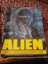 1979 Alien Trading Cards With Display Box