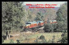 LMH Postcard  GREAT SMOKY MOUNTAINS Railway  GP7 #777 GP9 #200 Smokey Excursion