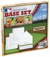Franklin 5pc set rubber baseball base home plate pitchers mound throw down 1985