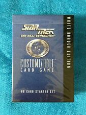 Star Trek: TNG CCG White Border Starter Deck - Factory sealed