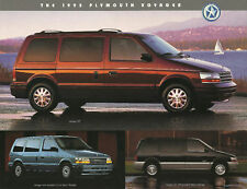 1995 Plymouth VOYAGER MINI-VAN MiniVan Brochure/Flyer/Sheet: SE,LE,