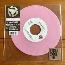 "Mastodon & The Flaming Lips - A Spoonful Weighs A Ton 7"" Pink Vinyl"