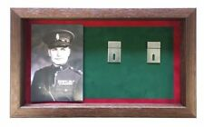 Large RUC Medal Display Case With Photograph For 5 - 7 Medals.