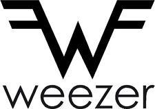 Weezer cut vinyl window/bumper sticker