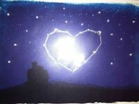 NEW & SEALED Papyrus Jeweled Heart Constellation Valentines Day Card HELEN LANG
