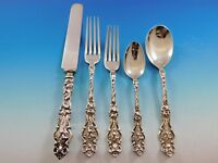 Irian by Wallace Sterling Silver Flatware Set for 8 Service Dinner Size 47 Pcs