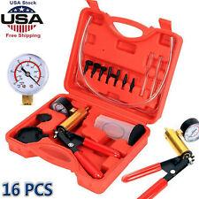 New Car Hand Held Vacuum Pressure Pump Tester Kit Brake Fluid Bleeder With Box