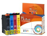 TS-Print Set Drucker Tinten-Patronen komp. Epson 16XL T1633 T1634 XL WF-2650DWF
