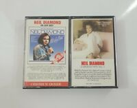 Neil Diamond Cassette Lot - His Very Best - 12 Greatest Hits Vol II