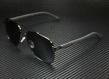 GUCCI GG0422S 002 Aviator Ruthenium Grey 60 mm Men's Sunglasses
