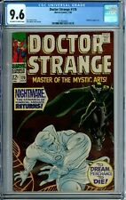 DOCTOR STRANGE 170 CGC 9.6 RARE in HG NewCGCCase Silver Age MARVEL COMICS 1968