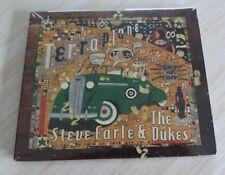 CD + DVD ALBUM DIGIPACK TERRAPLANE STEVE EARLE & THE DUKES 11 TITRES 2015 NEUF
