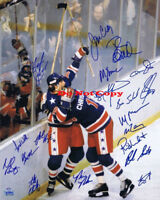 1980 Team USA Olympic Hockey autographed 8x10 photo RP