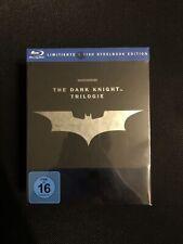 The Dark Knight Trilogy Steelbook Edition (5 Discs) Blu-ray