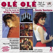 OLE OLE-Vol.1(1983-1984 y 1992) TODAS SUS GRABACIONES CON VICKY LARRAZ Y SON-2CD