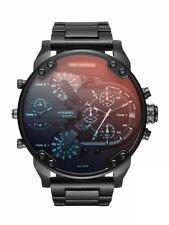 Original Diesel Herren Uhr DZ7395  XL  Mr Daddy 2.0 Black IP UVP 429 € Neu & Ovp