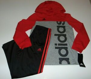 ~NWT Boys ADIDAS Hoodie Outfit! Size 6 Nice:)!