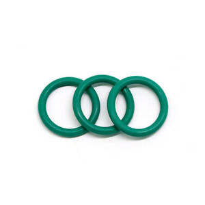 10x Green C/S 2mm OD 5-60mm Viton FKM Fluorine Rubber O-Ring Oil Sealing Gasket