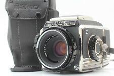 【NEARMINT】 Zenza BRONICA S2 S2A Late Model w/ Nikkor 75mm f/2.8 Lens From Japan