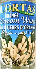 Premium Fresh Mediterranean Orange Blossom Water 10 oz 300ml Cortas Lebanon